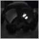 černý lesklý
