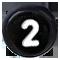 černé číslo 2