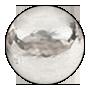 stříbrná tečka