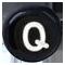 Q černé