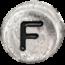 F stříbrné