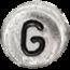G stříbrné