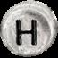H stříbrné