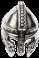 Přilba stříbrná