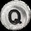 Q stříbrné