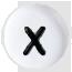 X bílé