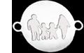 rodinka v kroužku, 2 děti